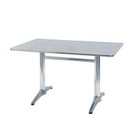 Scrivaria in alluminio 120x70 cm