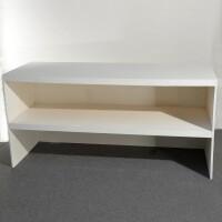 banco legno multistrato bianco cm 200x70