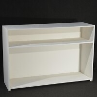 desk dritto legno multistrato bianco 1