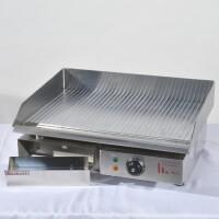 fry top rigato elettrico 220V 2