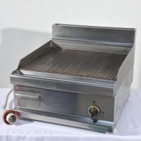 fry top rigato elettrico trifase