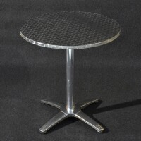 tavoli alluminio diam. cm 60-70