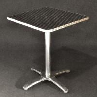 tavolo alluminio cm 60x60