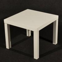 tavolo basso bianco